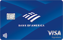 Bank of America Travel Rewards Credit Card for Students image