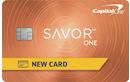 Capital One SavorOne Student Cash Rewards Credit Card image