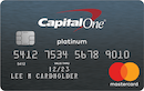 Secured Mastercard from Capital One image