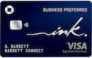 Ink Business Preferred Credit Card image