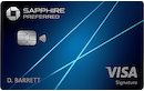 Chase Sapphire Preferred Card image