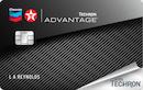 Chevron and Texaco Gas Card image