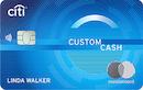 Citi Custom Cash℠ Card image