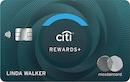 Citi Rewards+ Card image