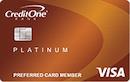 Credit One Bank Platinum Visa with Cash Back Rewards image