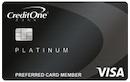 Credit One Bank Platinum Visa image