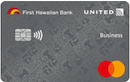 First Hawaiian Bank United MileagePlus Business Credit Card image