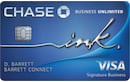 Ink Business Unlimited Credit Card image