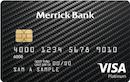 Merrick Bank Platinum Visa image