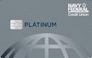 Navy Federal Credit Union Platinum Credit Card image