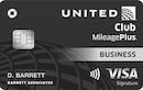 United MileagePlus Club Business Credit Card image
