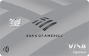 Bank of America Unlimited Cash Rewards credit card for Students image