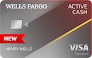 Wells Fargo Active Cash℠ Card image
