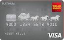 Wells Fargo Platinum card image