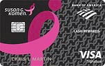 pink ribbon credit card