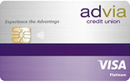 advia credit union platinum fixed rate credit card
