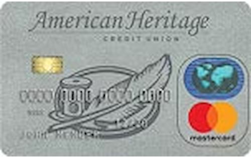 american heritage federal credit union platinum preferred mastercard