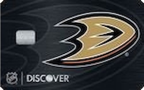 anaheim ducks credit card