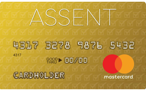 assent platinum secured credit card