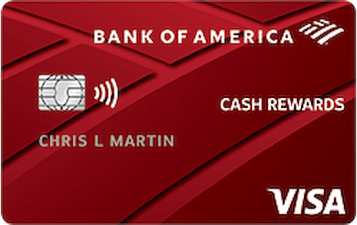 Bank of America® Cash Rewards Secured Credit Card