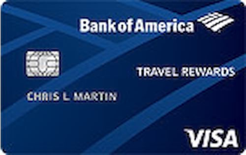 bank of america travel rewards for students credit card
