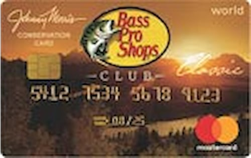 bass pro shops credit card