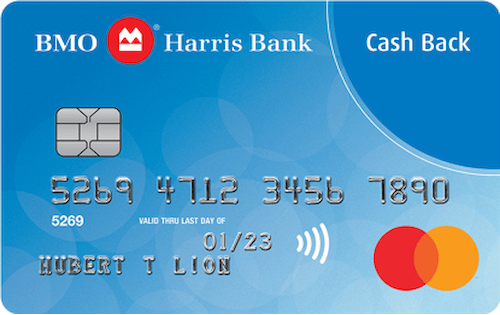 bmo harris bank cash back mastercard
