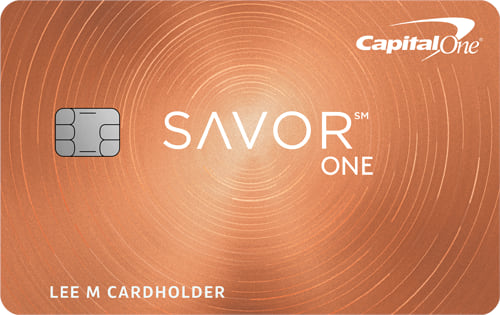 Capital One® SavorOne® Cash Rewards Credit Card Image