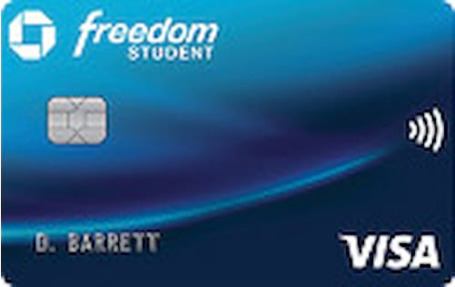 chase freedom student credit card
