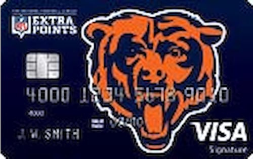chicago bears credit card