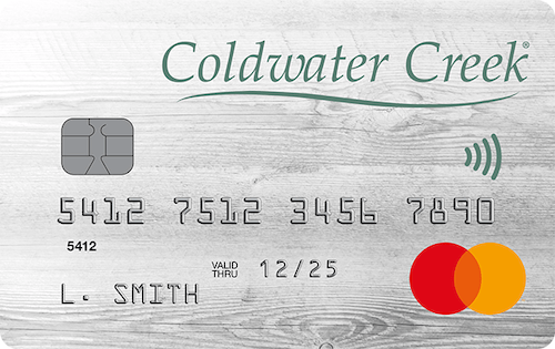 coldwater creek credit card
