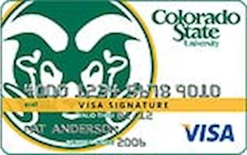 colorado state university visa signature card