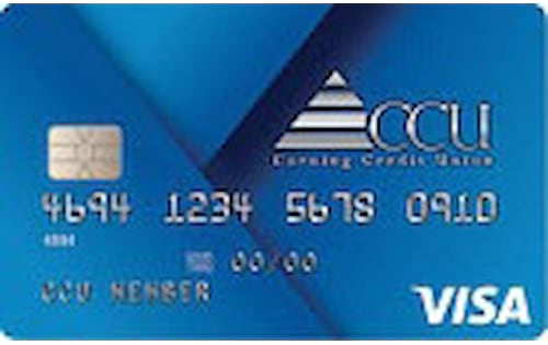 corning credit union visa traditional credit card