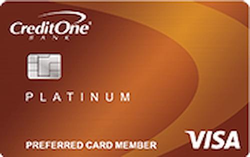 Credit One Bank® Platinum Visa® with Cash Back Rewards Avatar