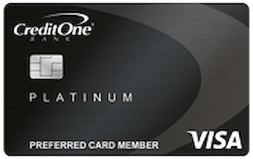 credit one platinum