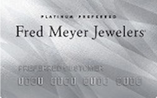 fred meyer jewelers credit card