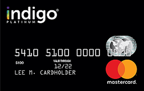 Indigo® Mastercard® for Less than Perfect Credit Image
