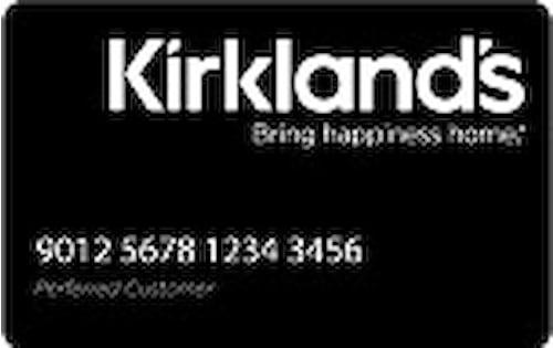 kirklands credit card