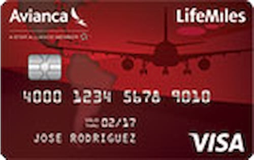 lifemiles visa secured credit card