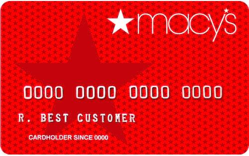 macys store card