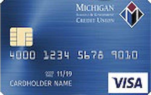 Michigan Schools And Government Credit Union Classic Visa® Credit Card Image