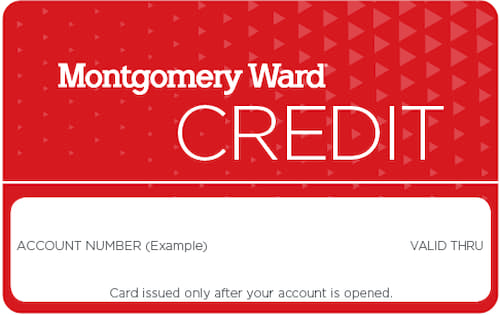 montgomery ward credit account