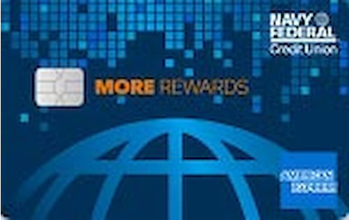 navy federal credit union more rewards american express credit card