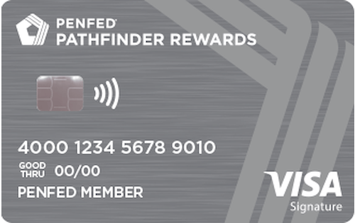 penfed pathfinder rewards american express card