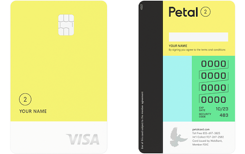 petal cash back card