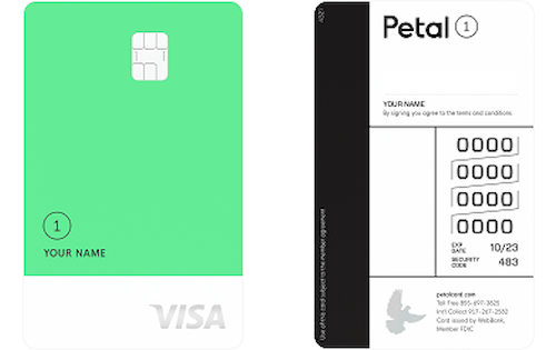 petal one visa credit card