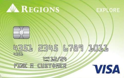 regions explore credit card
