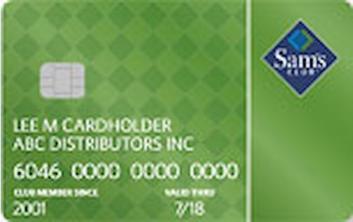 sams club business store card