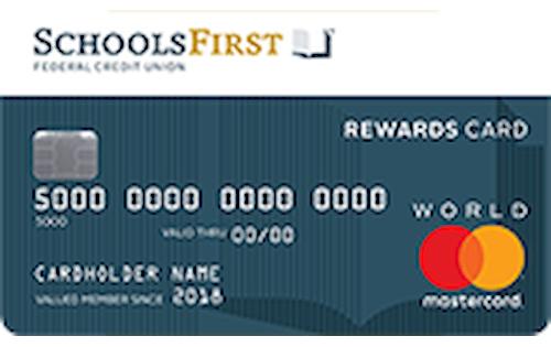 schoolsfirst federal credit union rewards mastercard