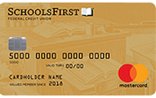 schoolsfirst federal credit union share secured mastercard